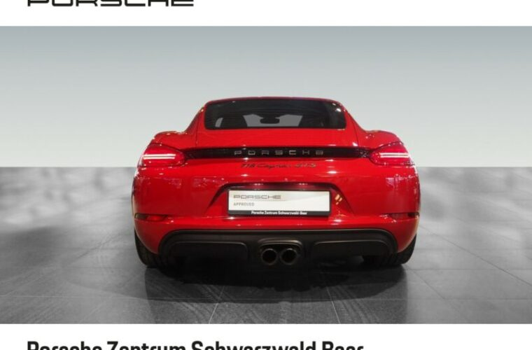 Porsche Cayman GTS 9